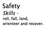 safety skills