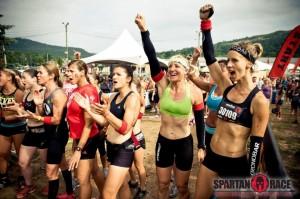 girls Spartan race